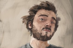 Carlo Ruzzo-Selbstporträt